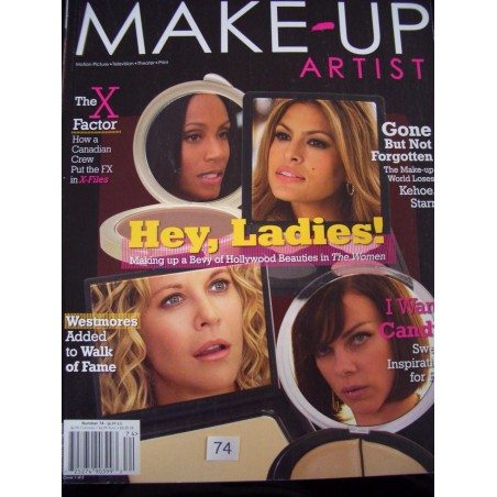 Make-up Artist Magazin	 englisch