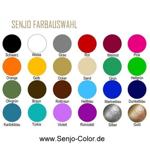 Senjo Basic_colorchart