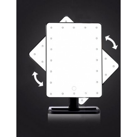 Fantasia_mirror with 20LED light_turnable