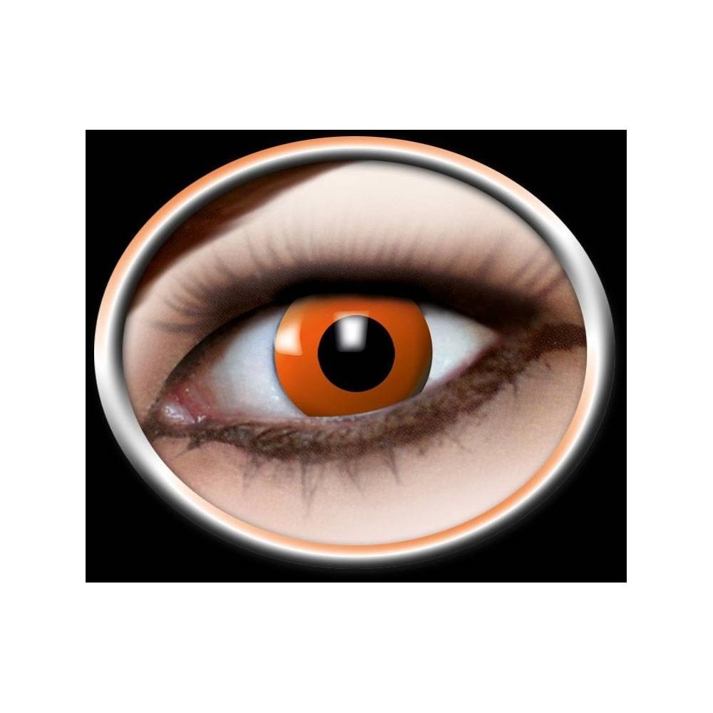 Fun lenses Halloween-Orange