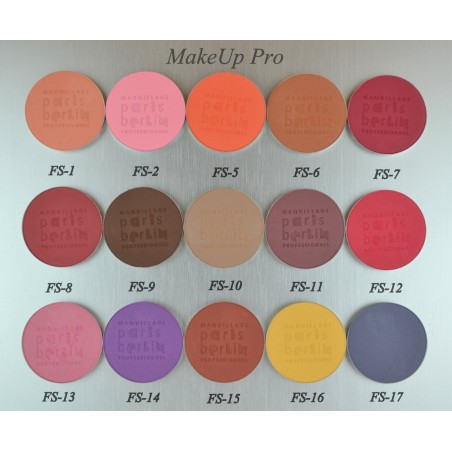 Paris Berlin Le Fard Sec / Eye Shadow Compact, Pal.Nachfüll.       3,5g