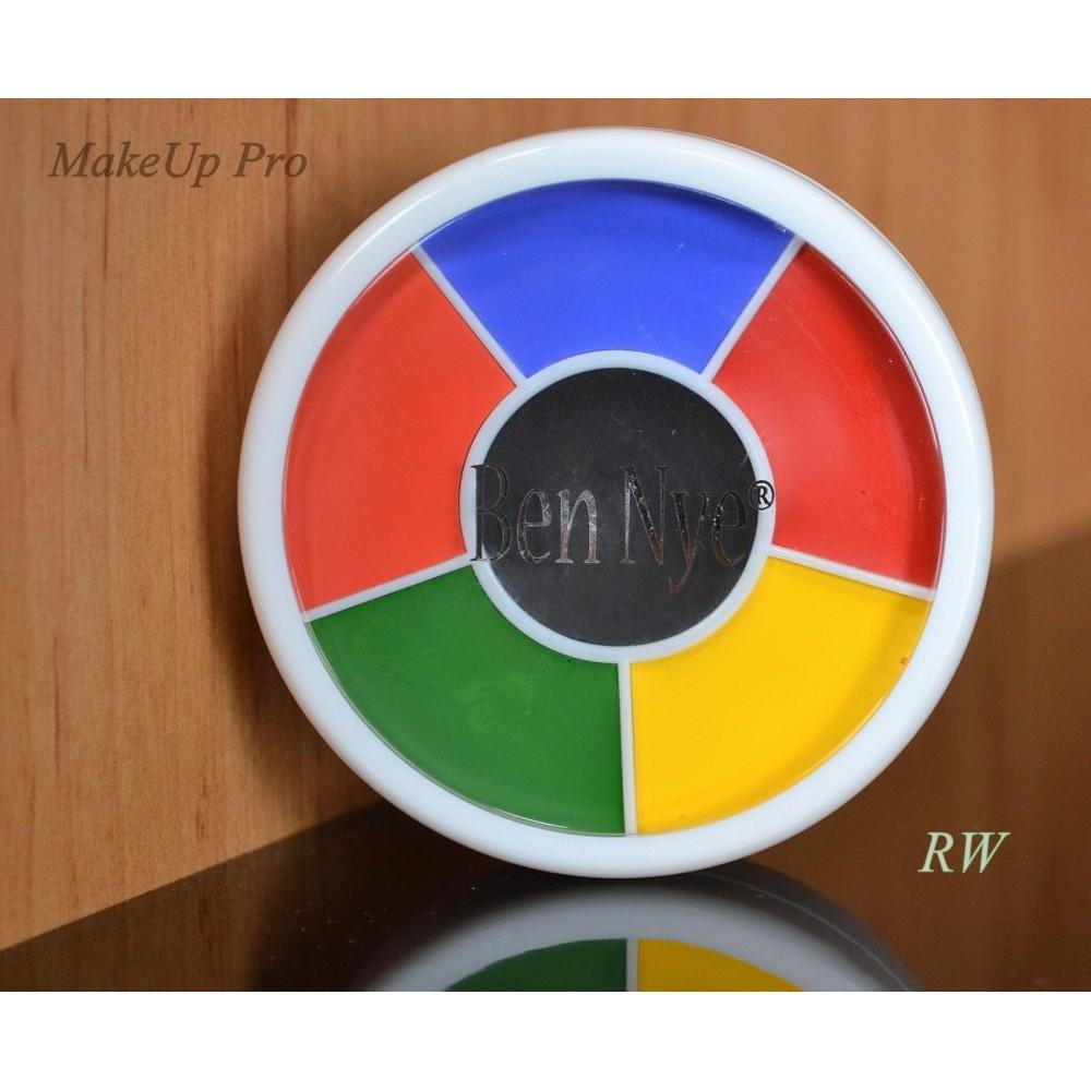 Ben Nye Professional Wheel 6 Farben28g