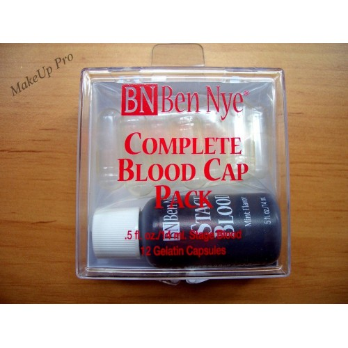 Ben Nye Complet Blood Pack   12 Capsules