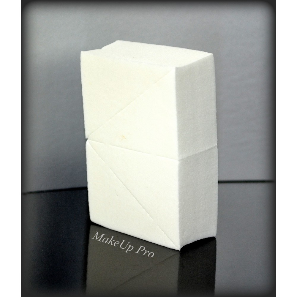 Dreieck-Schminkschwamm, latexfrei, 4 Stück