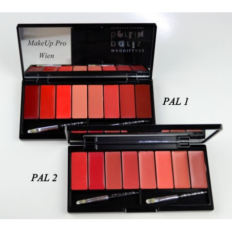 Paris Berlin La Palette de Rouge 10 Farben24g