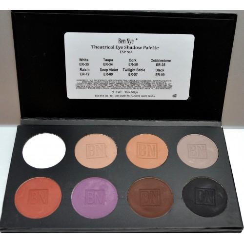 Theatrical szemhéjszínező paletta 8 színnel