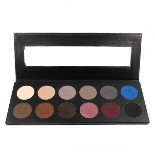 Ben Nye Glam szemhéjszínező paletta 12 színnel