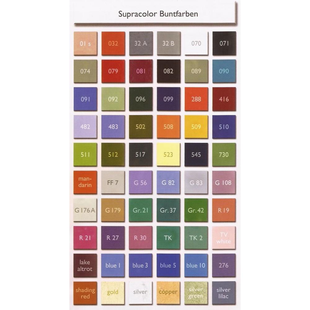 Kryolan Spezialteint gumifesték paletta 12 színnel