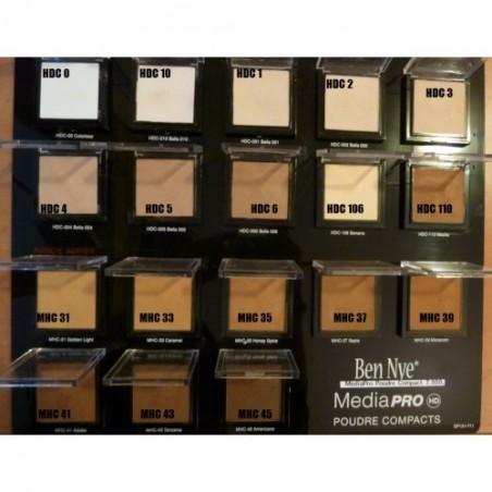 Ben Nye Media Pro HD Poudre Compact 18 g