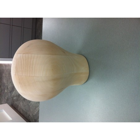 Parókafej fából