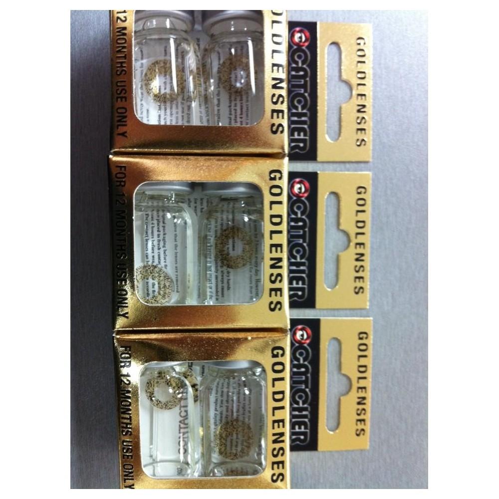 Zoelibat Catcher kontaktlencse golden sparkle go1