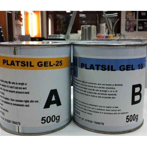MouldLife PlatSil Gel 10 (prosth. grade silicone) 1 kg