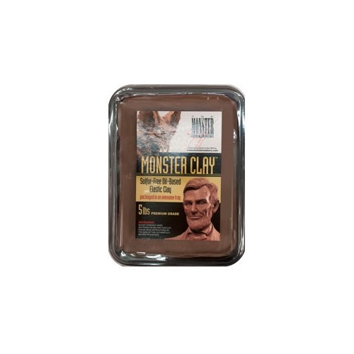 MouldLife Monster Clay (soft,medium,hard / sulfur free, oil/wax base) 2,25 kg