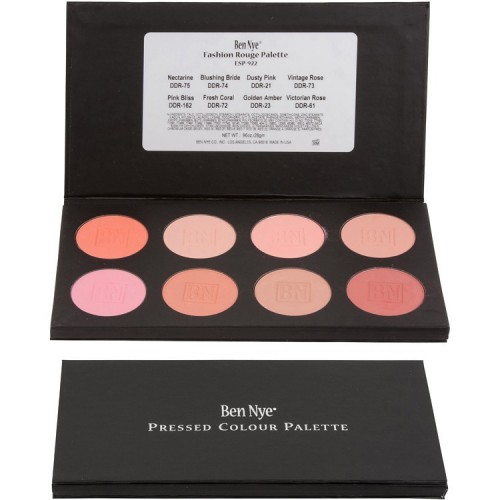 Ben Nye Fashion Rouge Palette 8-Colour