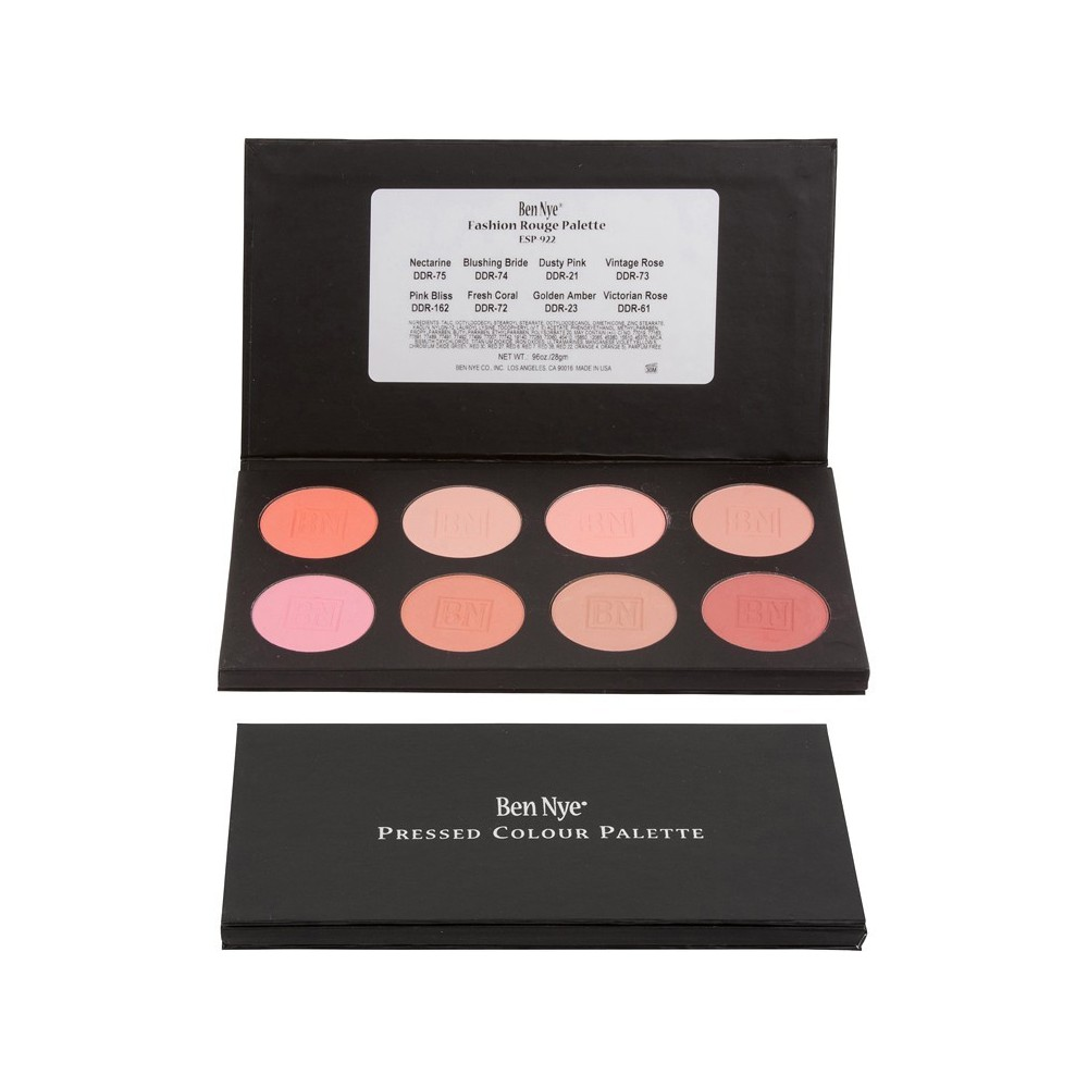 Ben Nye Fashion Rouge Palette 8-Colour