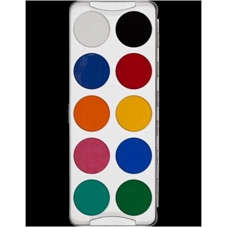 Kryolan Body Illustration Color alkoholos festék paletta bright
